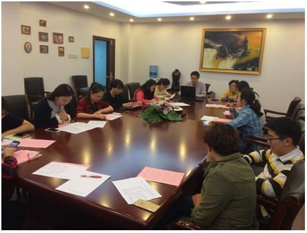 我校举办青年教师读书交流会